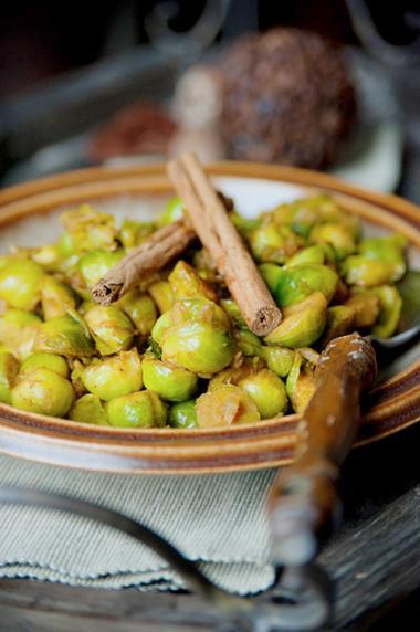 Recept 'kruidige spruitjes'