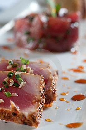 Trio van tonijn recept