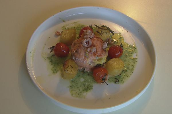 Zalm met curry