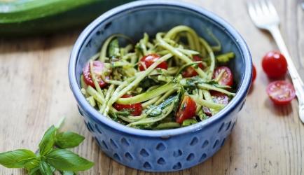 Courgetti spaghetti ala lowcarb! recept