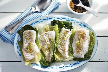 Gestoomde vis met limoen