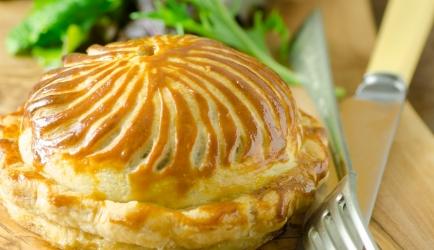 Frans taartje met paddenstoelen en gorgonzolasaus recept ...