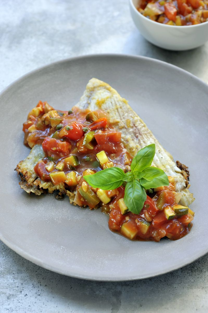 Recept 'provençaalse saus met verse basilicum'