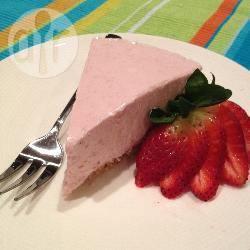 Griekse yoghurt-aardbeientaart recept
