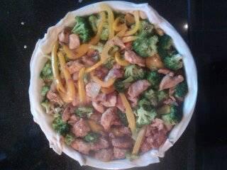 Heerlijke broccoli kiptaart met mozzarella recept