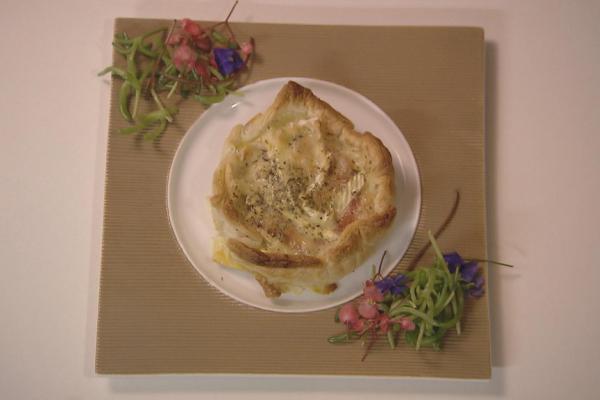 Taartje camembert