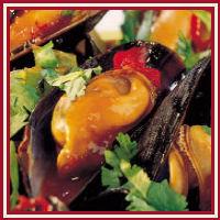 Mosselen met chilisaus en koriander recept