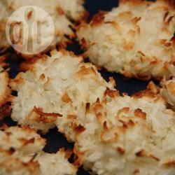 Gemakkelijk te maken kokosmakronen recept