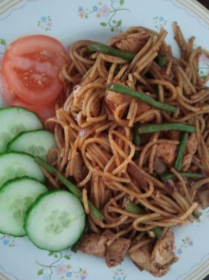 Surinaamse bami recept