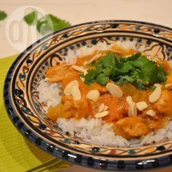 Kip curry uit de slowcooker recept