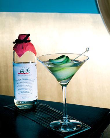 Recept 'sake martini'
