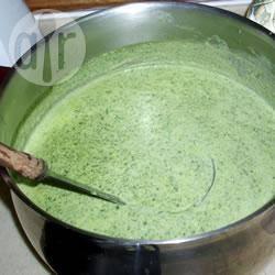 Beste waterkers soep recept