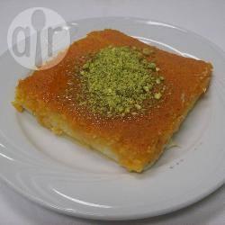 Knefe (libanees zoetje) recept