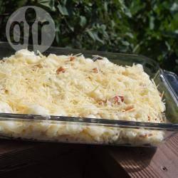 Ovenschotel met bloemkool, kaas en pasta recept