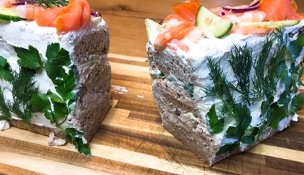 Sandwich cake recept