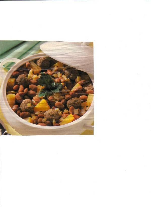 Pikante bonenschotel recept