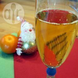 Ananas en rum champagne-punch recept