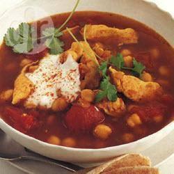 Indiase kippensoep recept