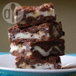 Brownies met roomkaas recept