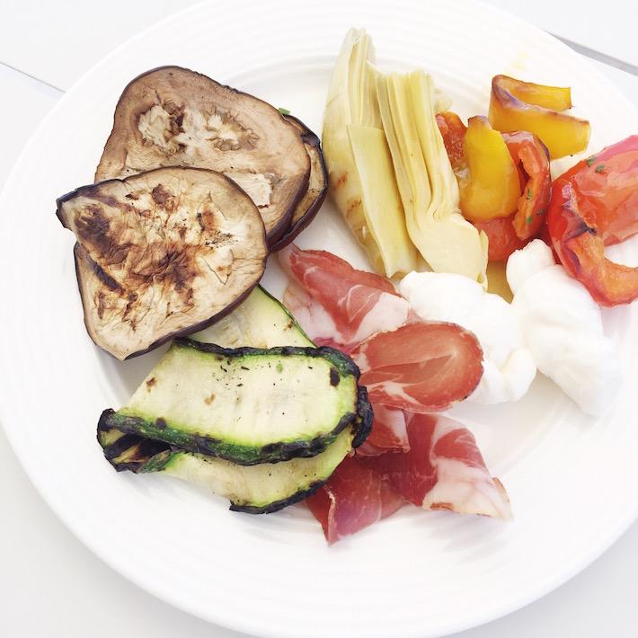 Italiaans menu