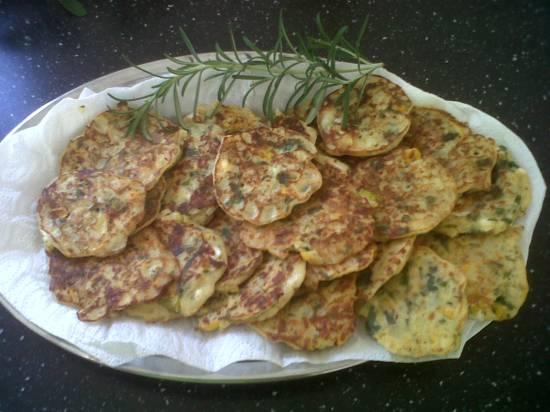 Courgette koekjes recept