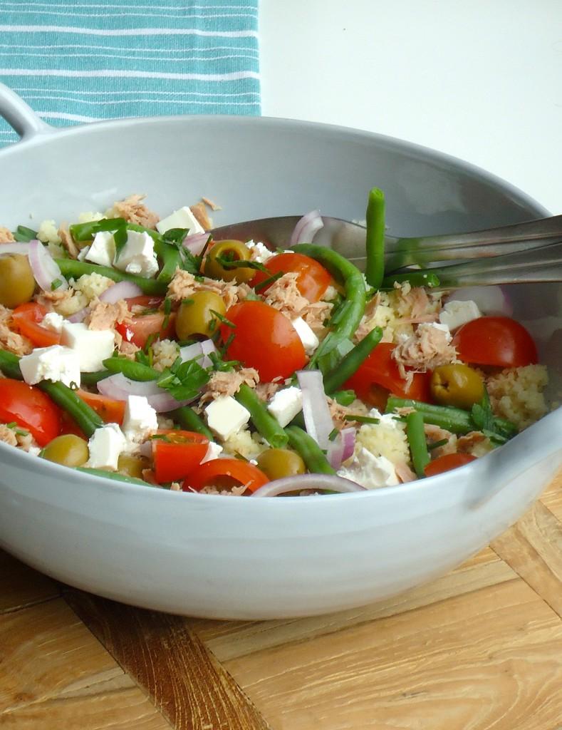Couscous salade niçoise
