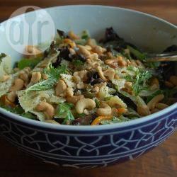 Lauwwarme pastasalade met boursin en cashewnoten recept ...