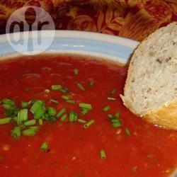 Gazpacho met tomaten, augurken en paprika recept