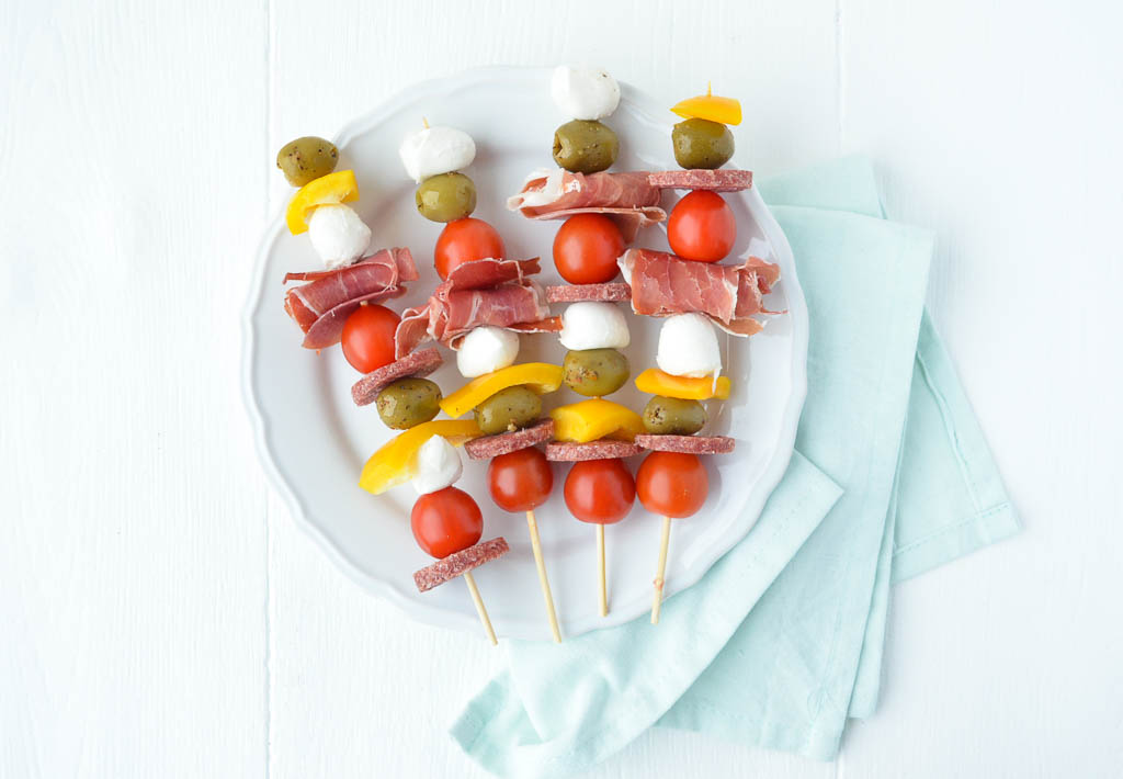 Weekend bites: antipasti prikkers