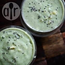 Komkommer, chia, gember smoothie recept