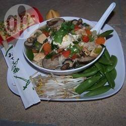 Chinese miesoep met kip recept