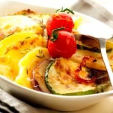 Aardappel en groenten ovenschotel recept