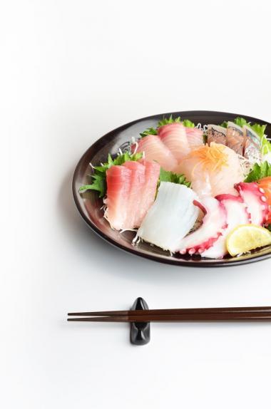 Recept 'sashimi volgens de regels van de kunst'