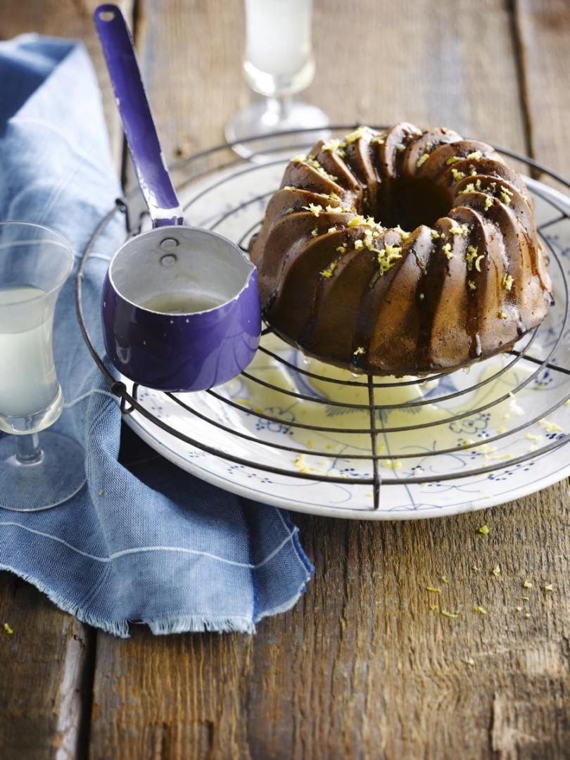 Recept 'chocoladecake met limoncello'