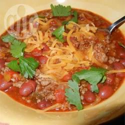 Carol's chili con carne recept