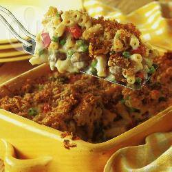 Macaroni met kaas en champignons recept