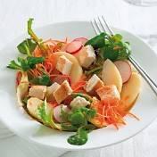 Salade met gebakken feta recept