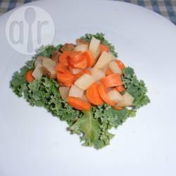 Marokkaanse wortel-aardappelsalade recept