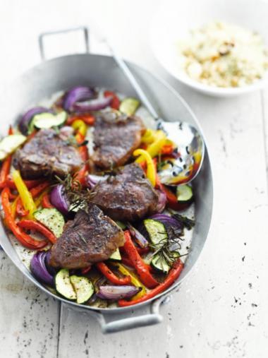 Recept 'lamskotelet uit de oven'