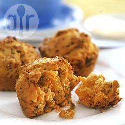 Wortelmuffins met abrikozen en pecannoten recept