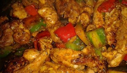 Gegrilde turkse shoarma van malse kippendij recept