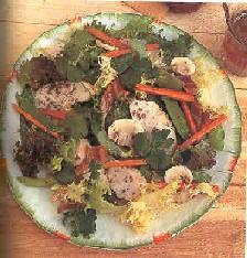 Kip-koriandersalade recept