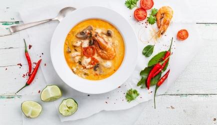 Tom yam soep recept