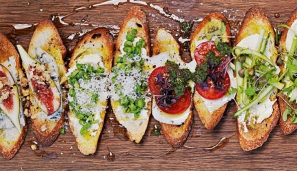 Crostini assorti recept