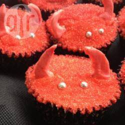 Duivel cupcakes recept