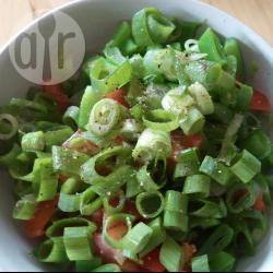 Lauwwarme snijbonen salade recept