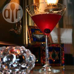 Bosbessen wodka martini recept