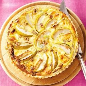 Briequiche met appel recept