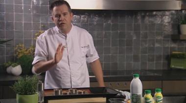 Recept 'aardappelgratin met parmezaanse kaas'
