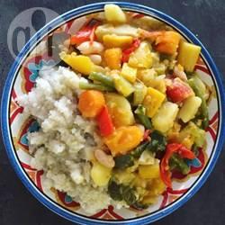 Vegetarische stoofpot voor bij couscous recept